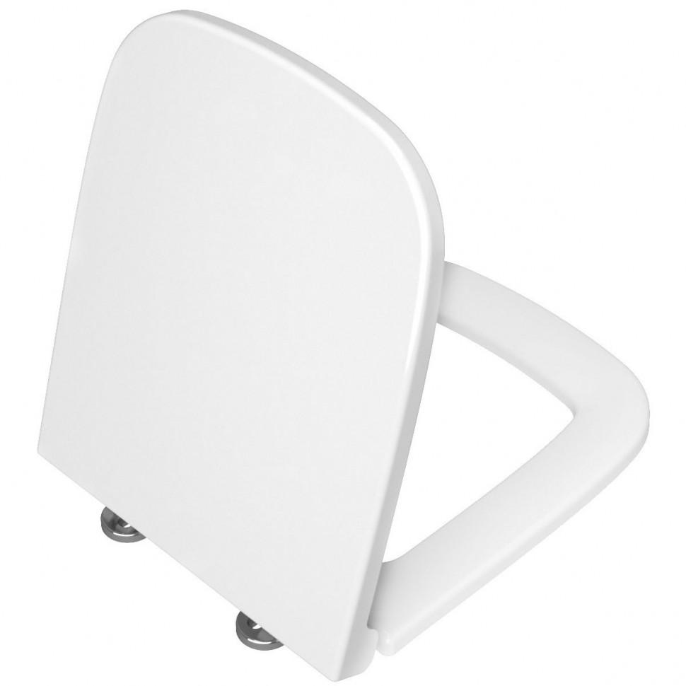 Фото - Крышка-сиденье с микролифтом Vitra S20 77-003-009 сиденье vitra zentrum сиденье для унитаза микролифт 94 003 009
