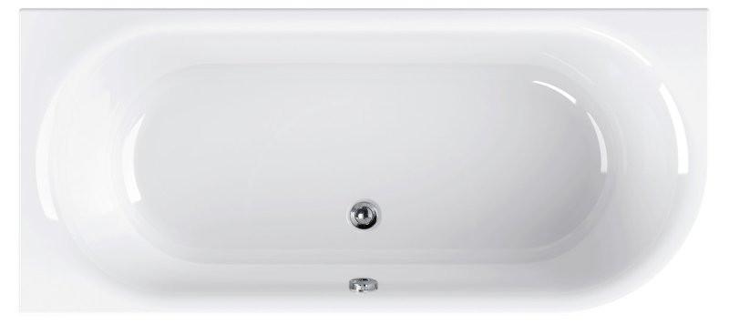 Акриловая ванна 180х80 см L Cezares Metauro Corner METAURO CORNER-180-80-40-L