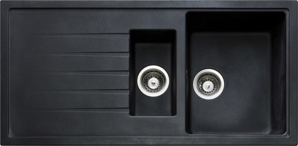 Кухонная мойка оникс Longran Classic CLS1000.500 15 - 10 мойка longran ultra uls615 500 15 10 оникс