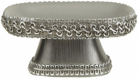 Мыльница Avanti Braided Medallion Silver 11166C-SLV