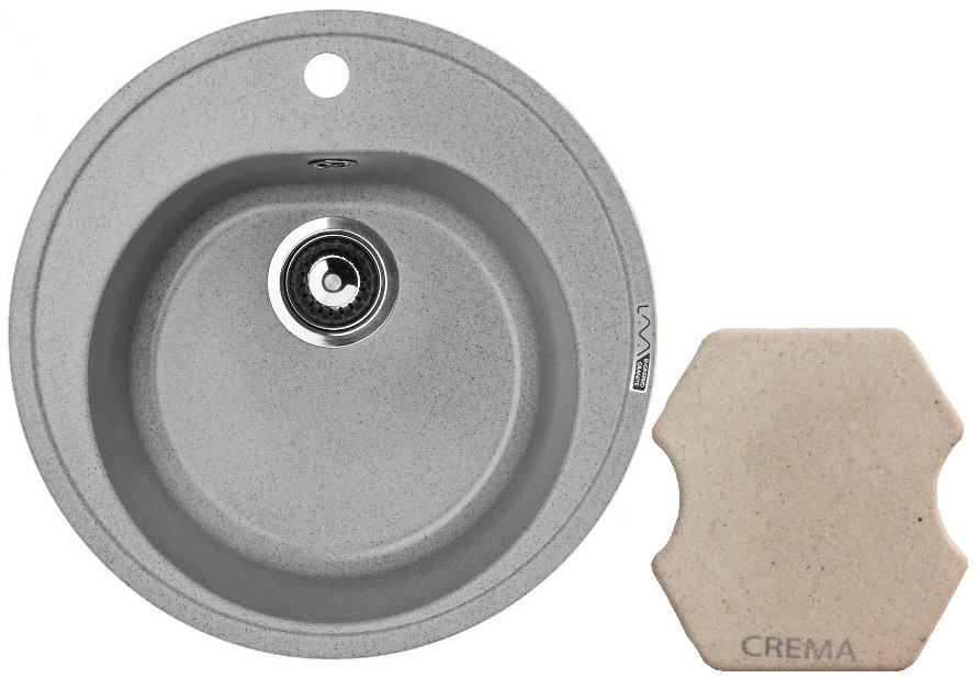 Кухонная мойка CREMA Lava R2.CRE цена