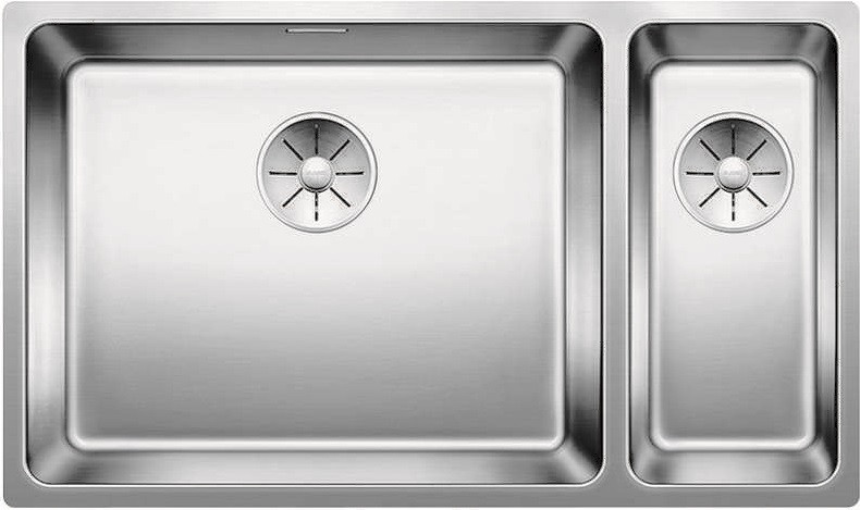 Кухонная мойка Blanco Andano 500/180-U InFino зеркальная полированная сталь 522991 кухонная мойка blanco andano 340 340 u infino зеркальная полированная сталь 522983