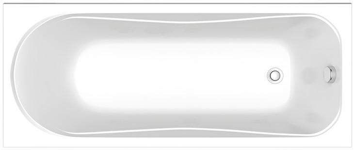 Акриловая ванна 160х70 см Bas Стайл B00034 еж стайл линейка superhero flash 19 см