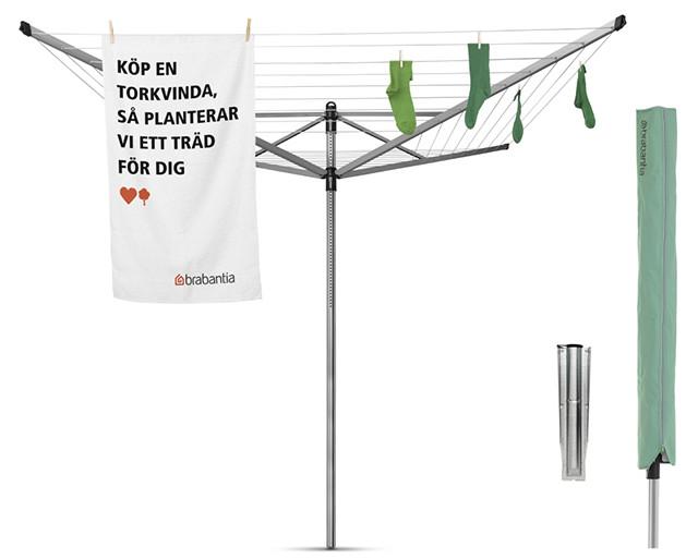 Уличная сушилка для белья Brabantia Lift-O-Matic 310966