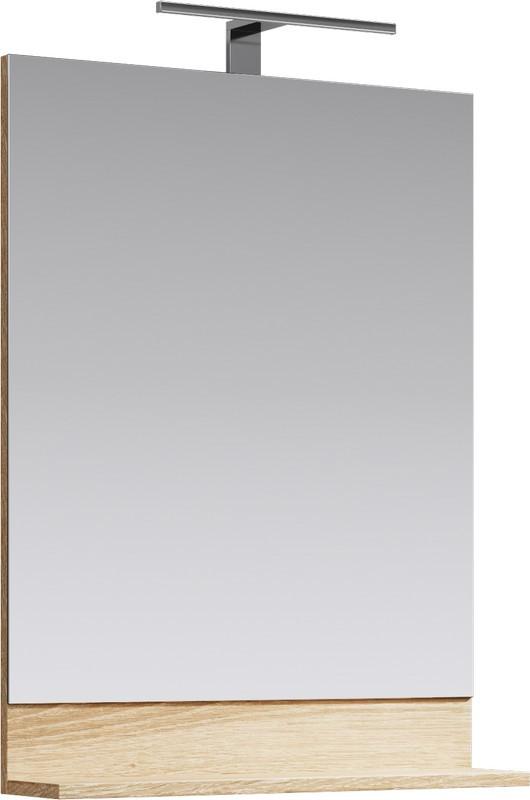 Зеркало 60х79,8 см дуб сонома Aqwella Foster FOS0206DS недорого