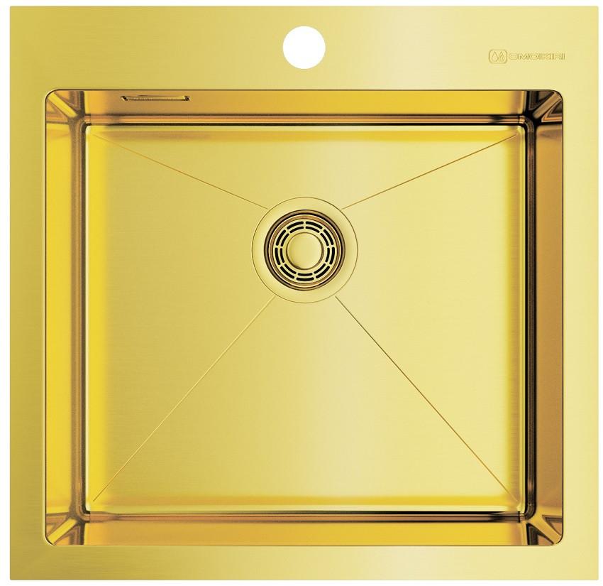 Фото - Кухонная мойка светлое золото Omoikiri Akisame 51-LG врезная кухонная мойка 46 см omoikiri akisame 46 lg 4973081 светлое золото