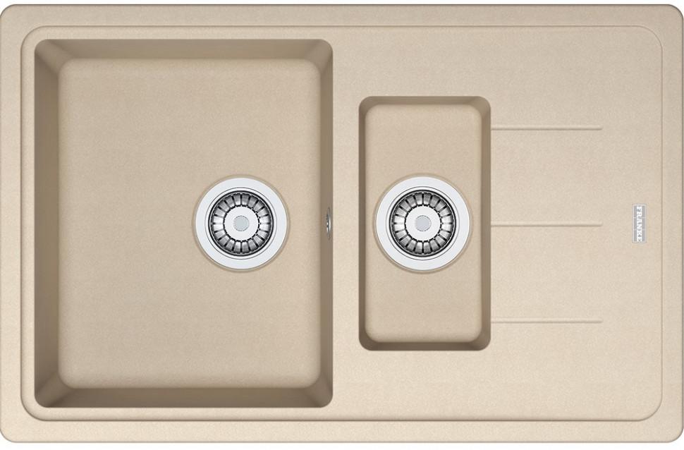 Кухонная мойка Franke Basis BFG 651-78 бежевый 114.0280.885 franke galileo бежевый