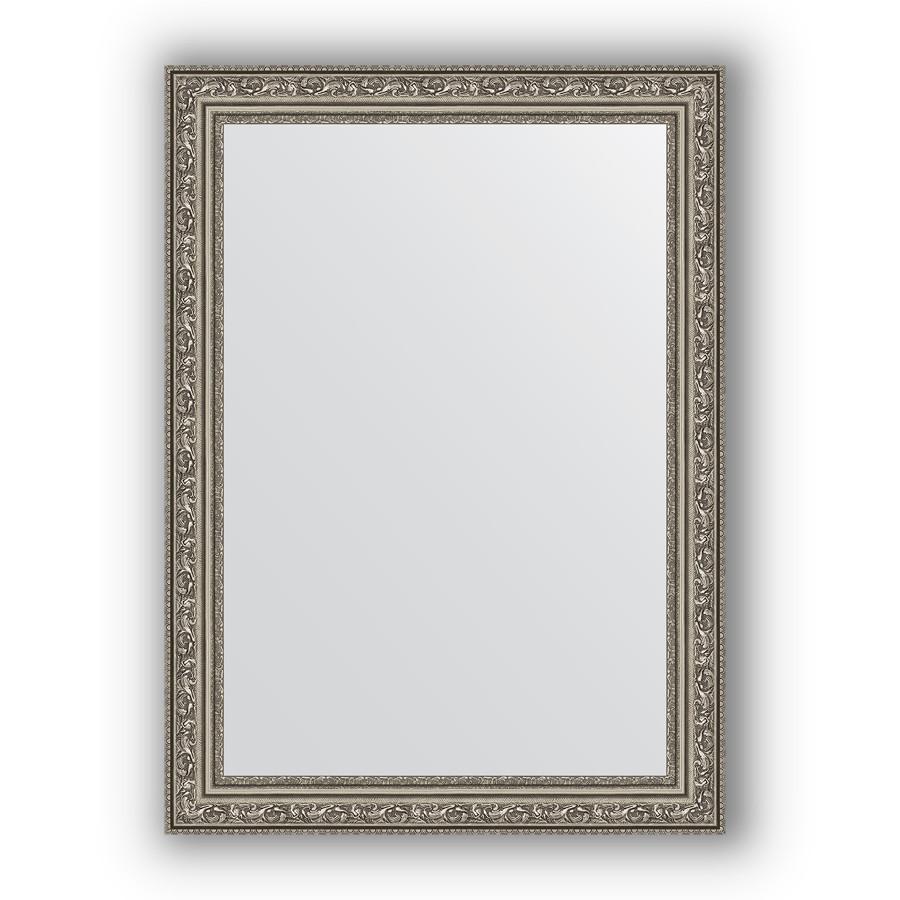 Фото - Зеркало 54х74 см виньетка состаренное серебро Evoform Definite BY 3040 зеркало 64х114 см виньетка состаренное серебро evoform definite by 3200