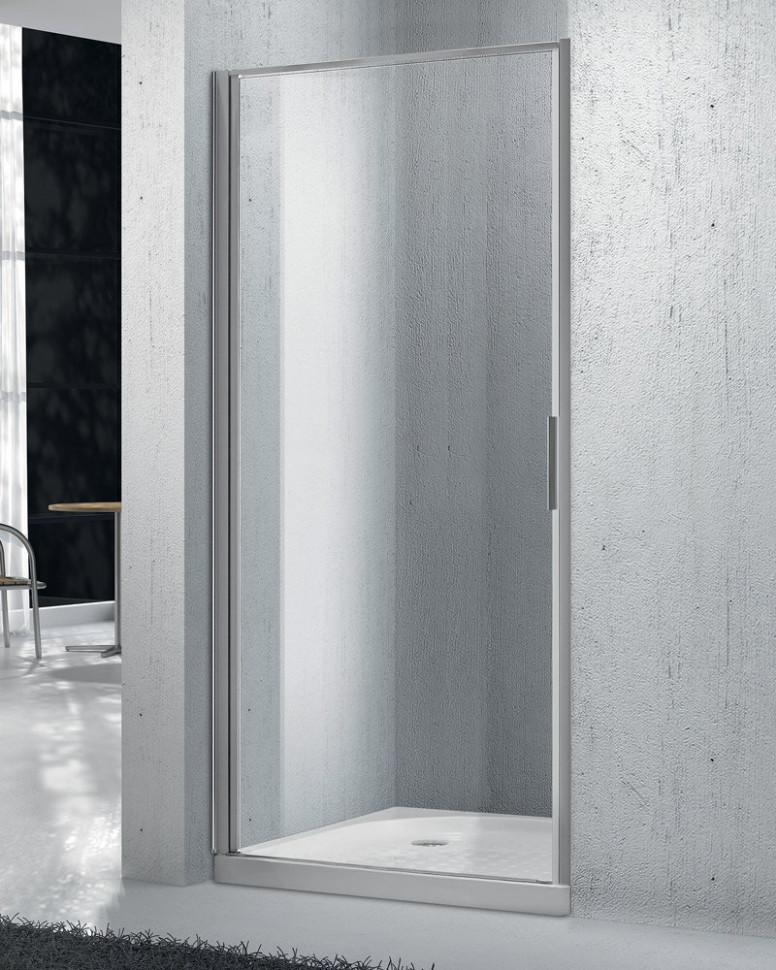 Душевая дверь 95 см BelBagno SELA-B-1-95-C-Cr прозрачное душевая дверь 75 см belbagno sela b 1 75 c cr прозрачное