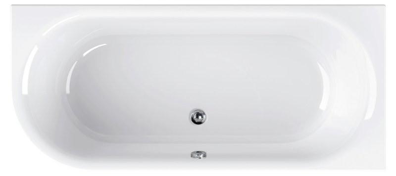 Акриловая ванна 180х80 см R Cezares Metauro Corner METAURO CORNER-180-80-40-R