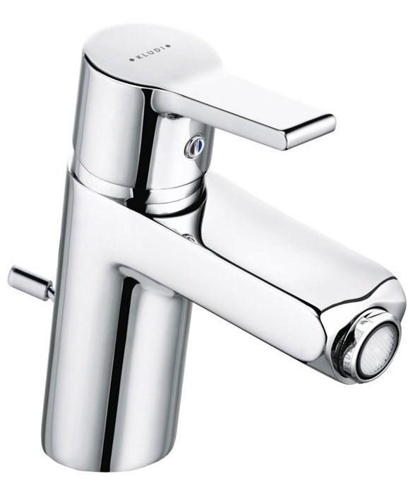 Смеситель для биде с донным клапаном Kludi O-Cean 384300575 смеситель для биде с донным клапаном kludi logo neo 375330575