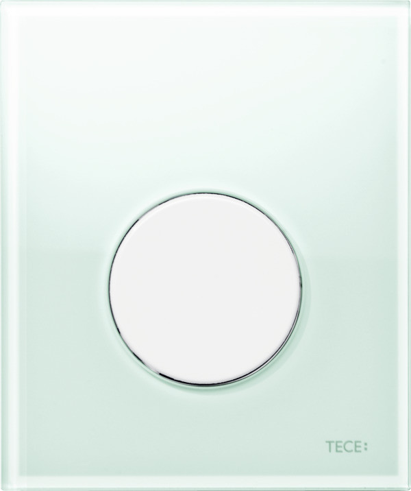 Смывная клавиша для писсуара TECE TECEloop мятный зеленый/белый 9242651 смывная клавиша для писсуара tece teceloop мятный зеленый белый 9242651