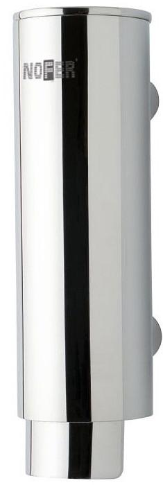 Диспенсер для мыла 300 мл хром Nofer Inox 03024.B диспенсер для мыла axentia nero 131056 черный 300 мл
