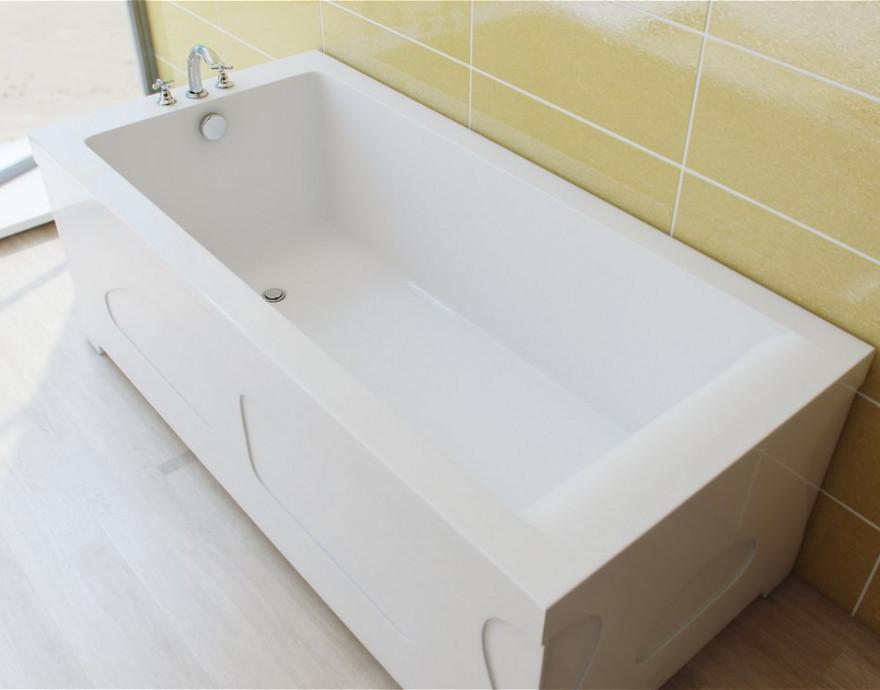 Ванна из литого мрамора 170х75 см Эстет Дельта FP00001681 ванна из литого мрамора эстет грация 170x94 см левая асимметричная на ножках фр 00000629