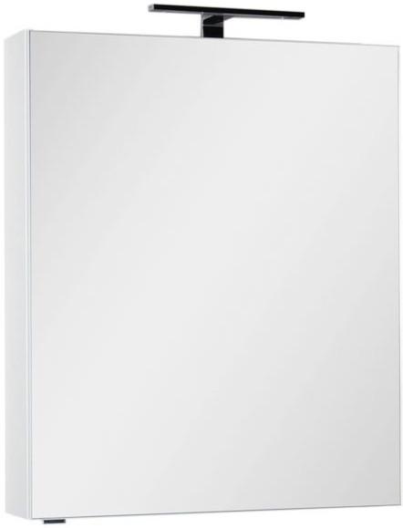 Зеркальный шкаф 70х85 см белый Aquanet Алвита 00184038 зеркальный шкаф 90х75 см белый aquanet латина 00179605