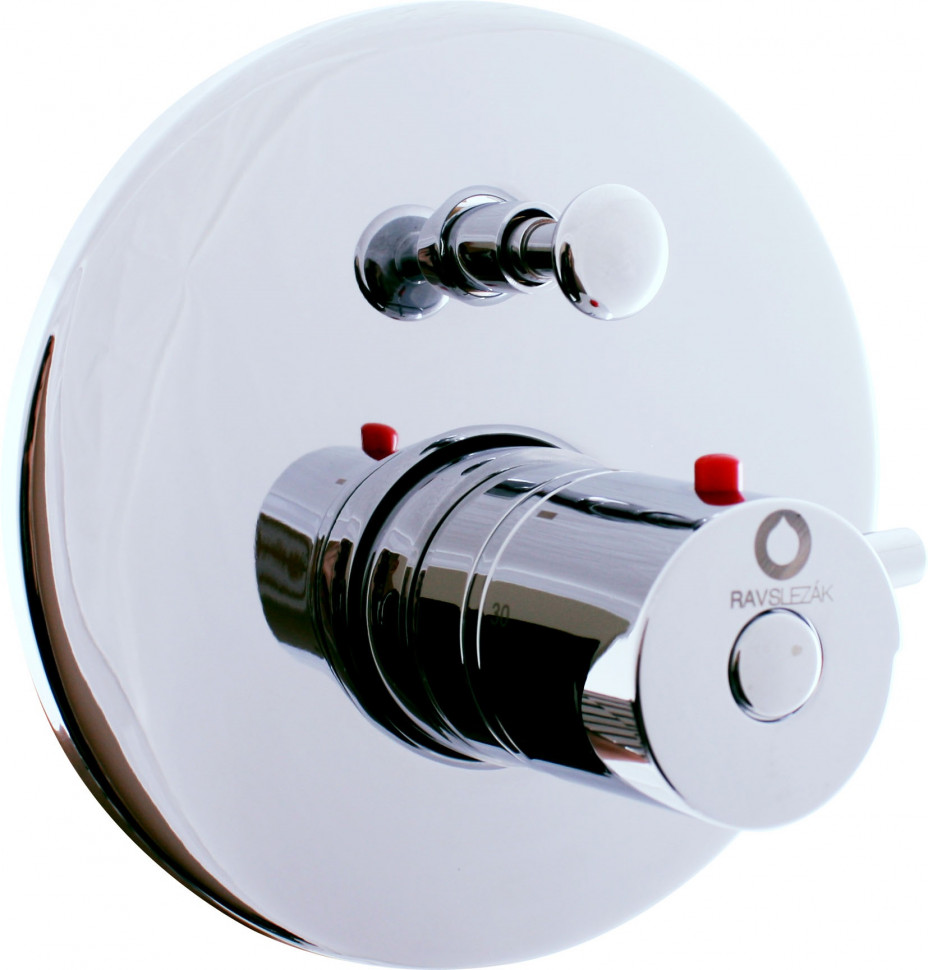 Термостат для ванны Rav Slezak Dunaj Termostat DT286 смеситель для ванны rav slezak dunai termostat dt274 5pz