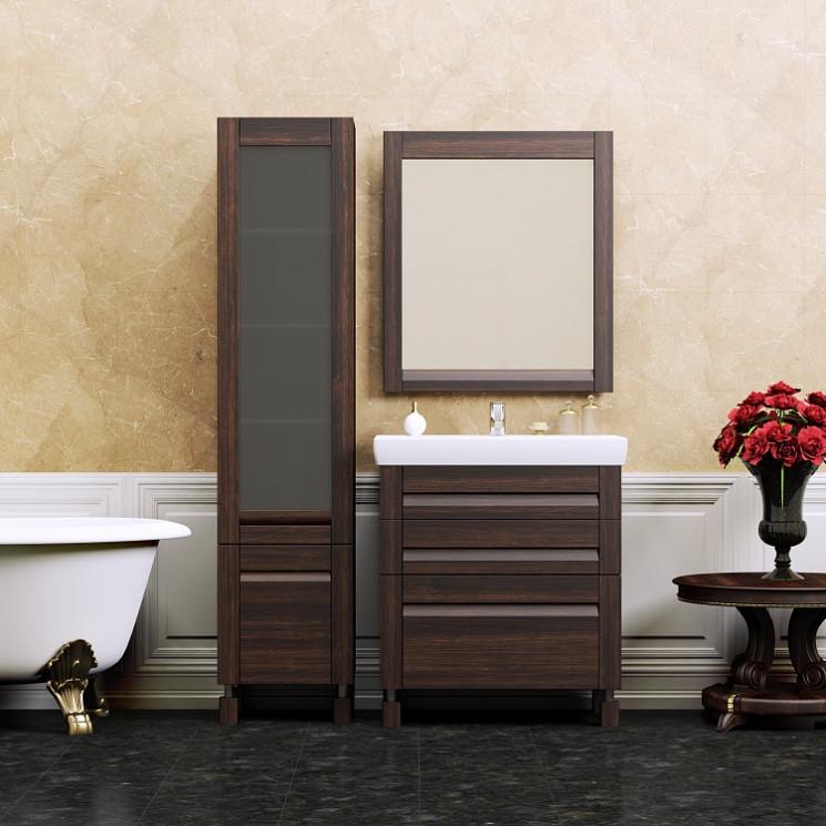 Фото - Комплект мебели венге 70 см Opadiris Лаварро LAVARRO70KOMVPOL комплект мебели opadiris лаварро z0000000969 z0000000693 191645