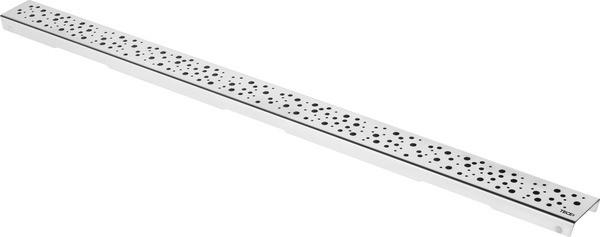 Декоративная решетка 1443 мм Tece TECEdrainline drops нержавеющая сталь 601531