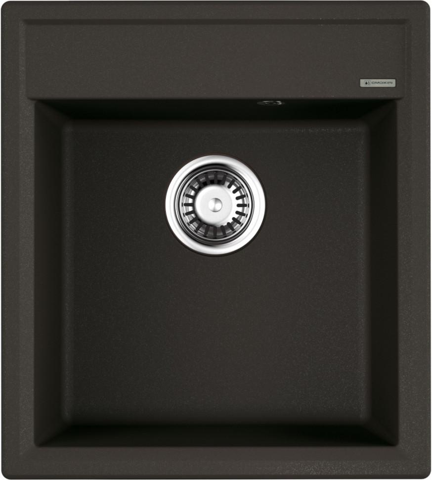 Кухонная мойка темный шоколад Artgranit Omoikiri Daisen 46-DC цены онлайн