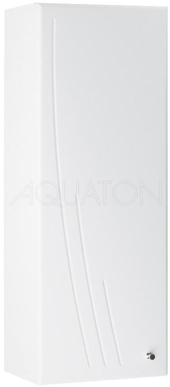 Шкаф одностворчатый подвесной 30,5х81,8 см белый глянец L Акватон Минима 1A001803MN01L