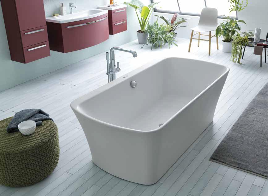 Акриловая ванна 180х90 см Kolpa San Marilyn FS White