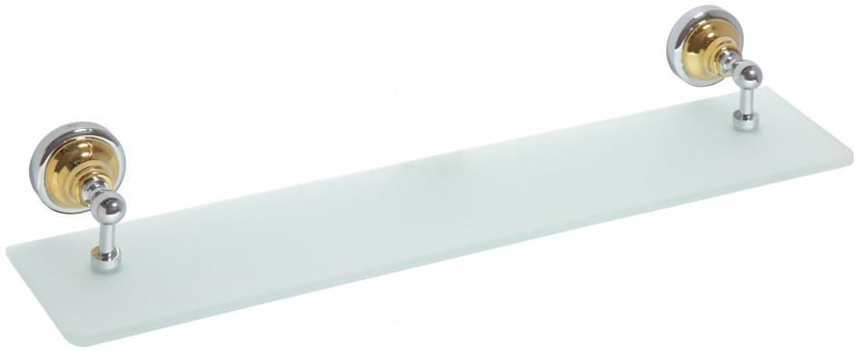 Полка стеклянная 60 см Bemeta Retro 144202248 sinix sinix 5088 w