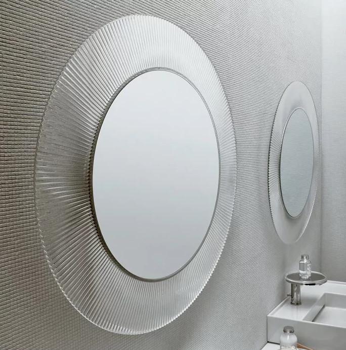 Зеркало прозрачное круглое Laufen Kartel by Laufen 3863310840001 зеркало laufen living 4 4725 1 996 144 1