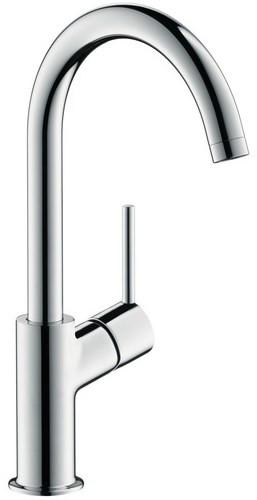 Смеситель для раковины 210, с донным клапаном Push-Open с фиксированным изливом Hansgrohe Talis 32080000