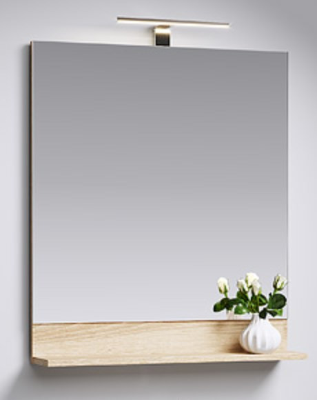 Зеркало 70х79,8 см дуб сонома Aqwella Foster FOS0207DS