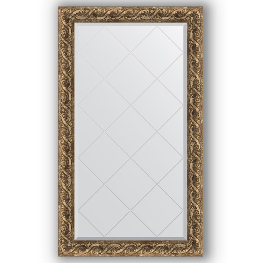 Зеркало 76х130 см фреска Evoform Exclusive-G BY 4227 зеркало evoform exclusive g 185х131 фреска