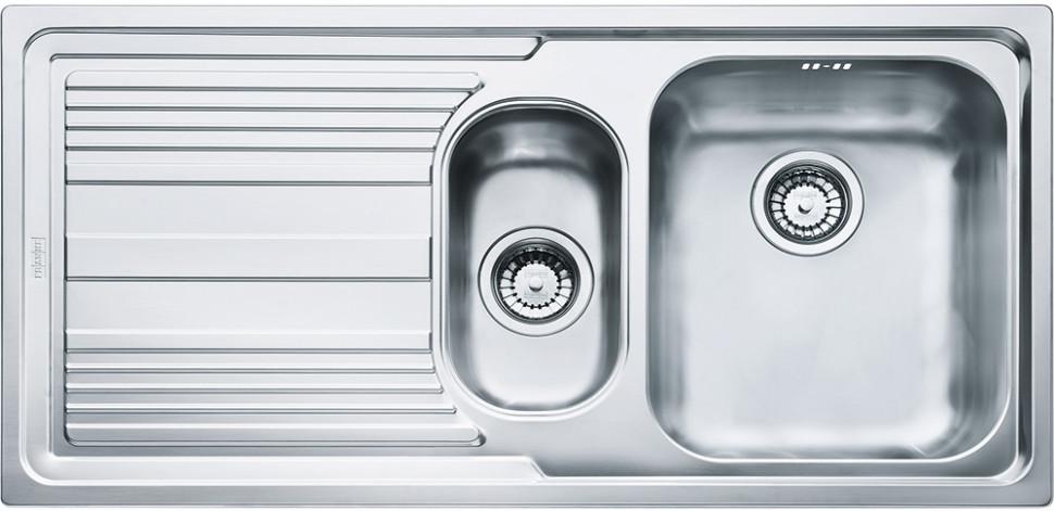 Кухонная мойка Franke Logica Line LLX 651 полированная сталь 101.0085.812 мойка franke cog 651 белая