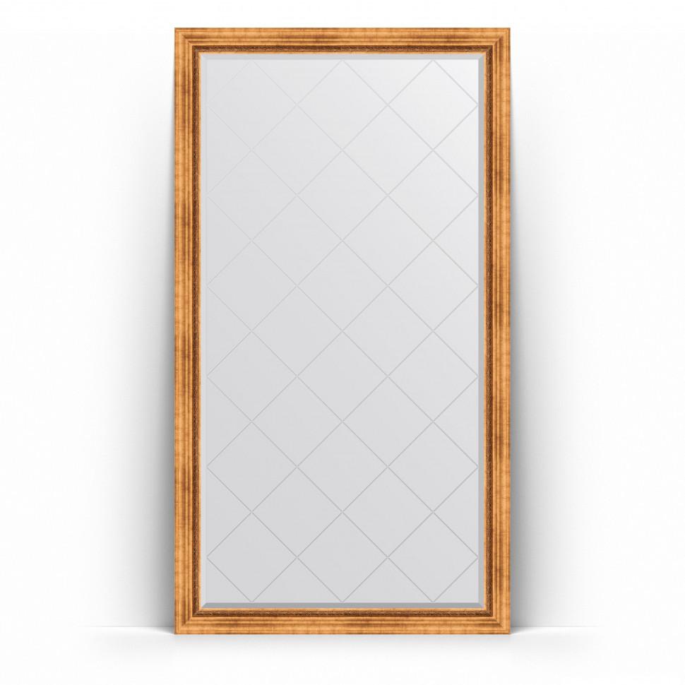 Фото - Зеркало напольное 111х201 см римское золото Evoform Exclusive-G Floor BY 6357 зеркало напольное 111х201 см чеканка золотая evoform definite floor by 6020