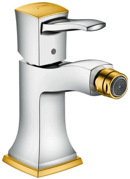 Смеситель для биде с донным клапаном Hansgrohe Metropol Classic 31320090 смеситель для биде с донным клапаном hansgrohe metropol classic 31320000