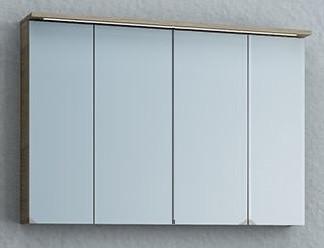 Зеркало-шкаф 110,4х71,8 см сатин дуб Kolpa San Adele TO SBW