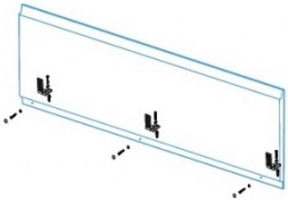 Крепление фронтальной панели Kolpa San Alba.