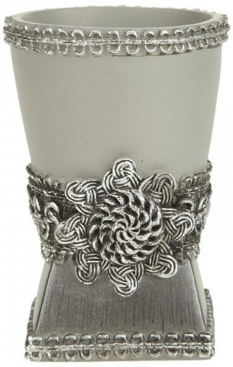 Стакан Avanti Braided Medallion Silver 11166A-SLV