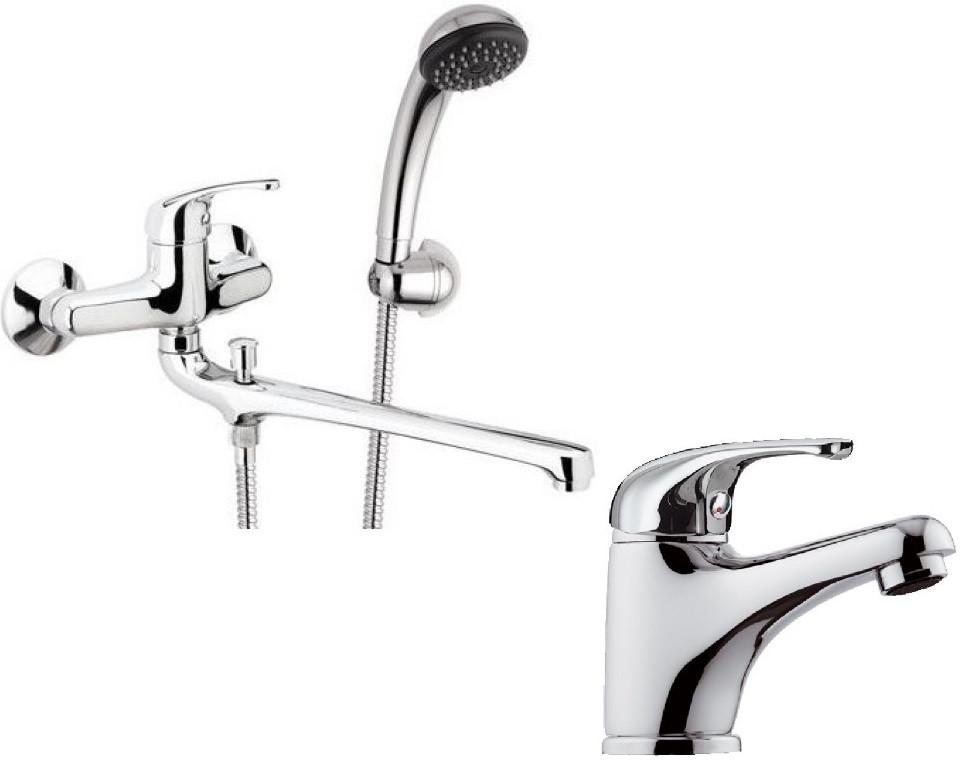 Комплект смесителей Remer Serie 35 F49 + F11 смеситель для ванны remer serie 35 f49