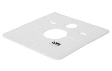 Шумоизоляционная панель из белого пластика(424х390х4) Viega 575168 дверь шумоизоляционная межкомнатная
