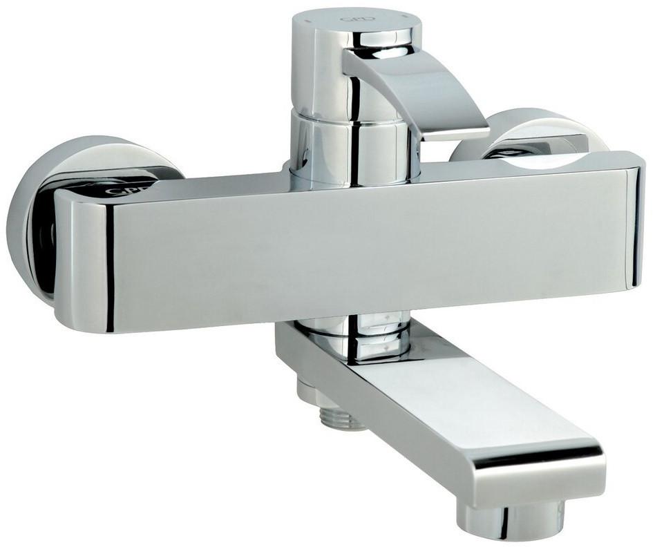 Смеситель для ванны GPD Aduro MBB95 смеситель для ванны gpd koch bnb13 хром
