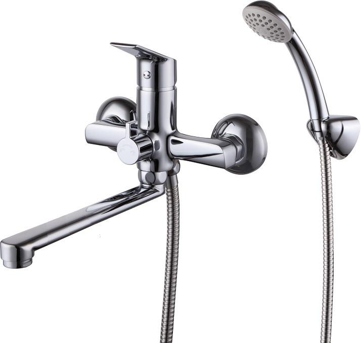 Смеситель для ванны Milardo Nelson NELSB00M02 смеситель milardo bering be270bw6k w21mi