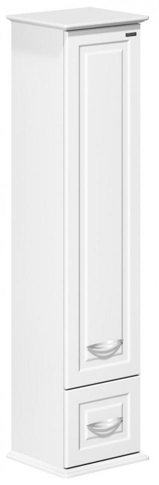 цена на Пенал подвесной белый глянец R Edelform Mero 3-660-00