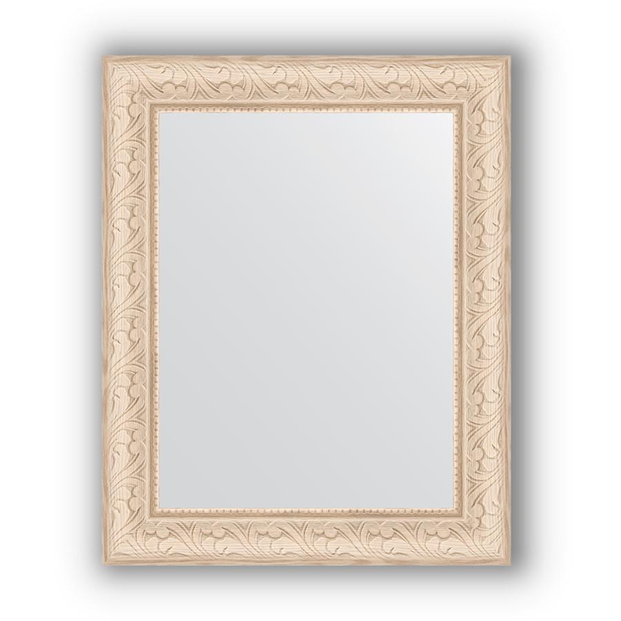 Фото - Зеркало 40х50 см беленый дуб Evoform Definite BY 1348 зеркало evoform definite 104х54 беленый дуб