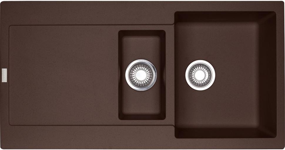 Кухонная мойка Franke Maris MRG 651 шоколад 114.0198.476