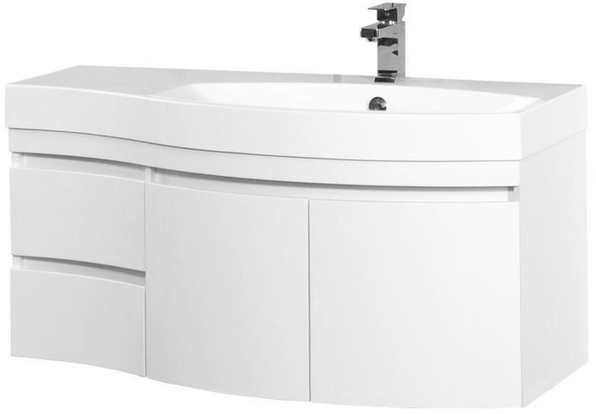 Тумба белый глянец 115 см R Aquanet Опера 00169654