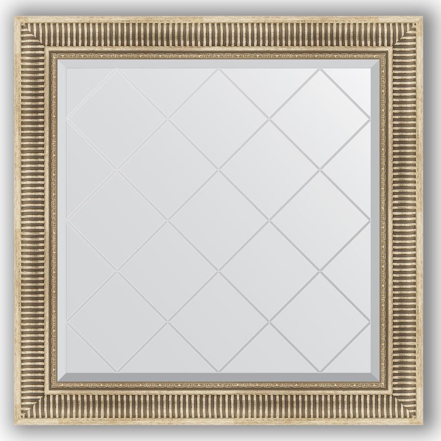 Зеркало 87х87 см серебряный акведук Evoform Exclusive-G BY 4325