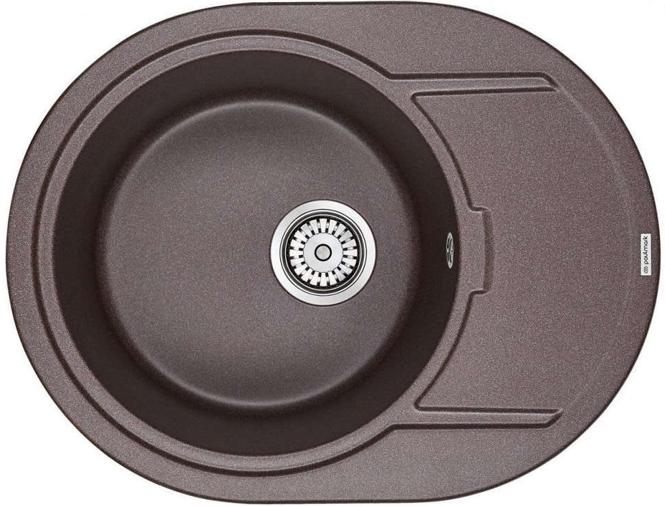 Кухонная мойка Paulmark Oval кофе PM316502-CO