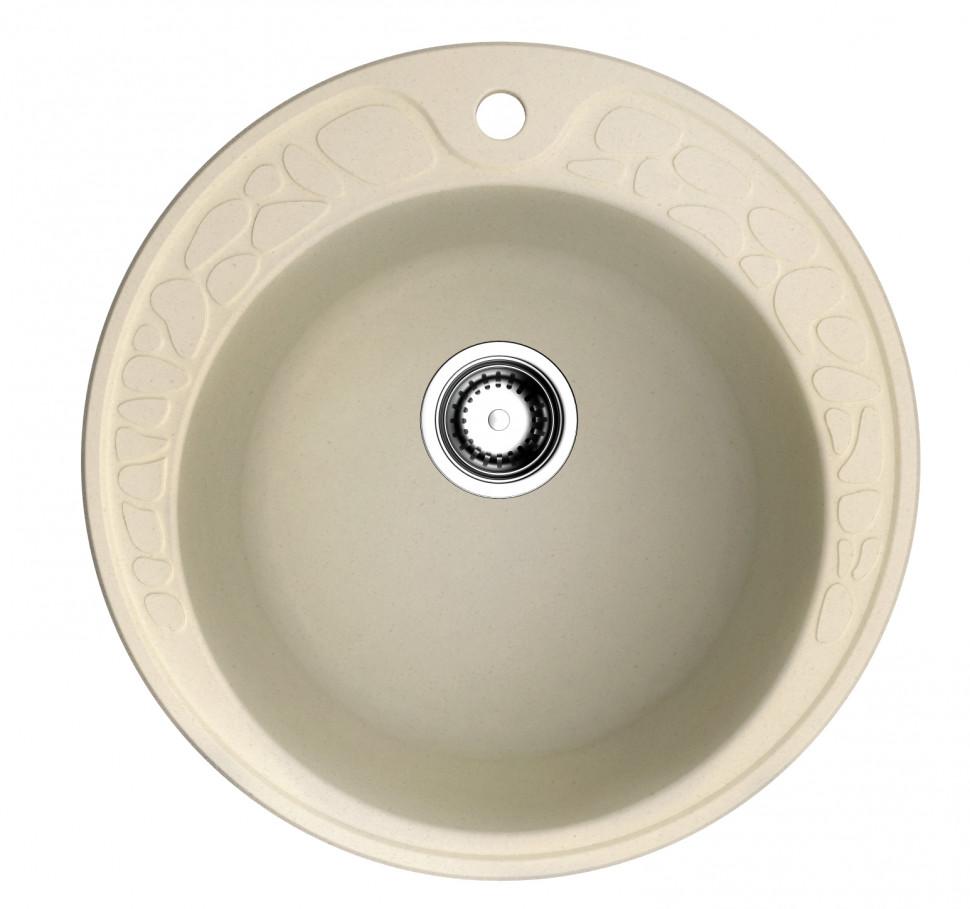 Кухонная мойка ваниль Artgranit Omoikiri Tovada 51-BE omoikiri tovada 51 ma