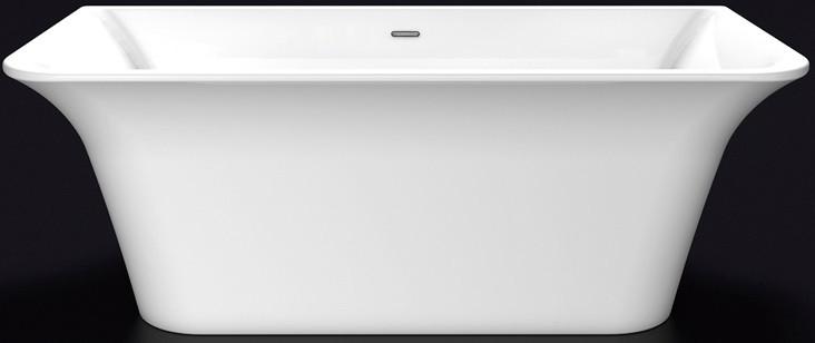 Акриловая ванна 160,5х77 см Lagard Evora White Star lgd-evr-ws светильник на штанге arlight lgd 2282 lgd 2282bk 45w 4tr white 24deg