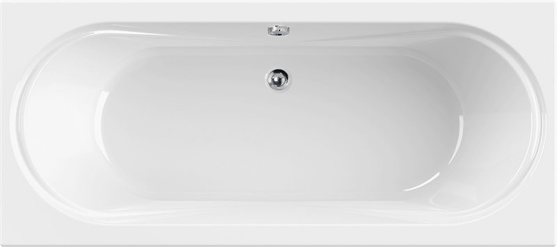 Акриловая ванна 180х80 см Cezares Amalfi AMALFI-180-80-45