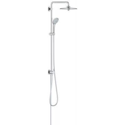 Душевая стойка grohe euphoria 260 как расставить сантехнику если маленькая ванная